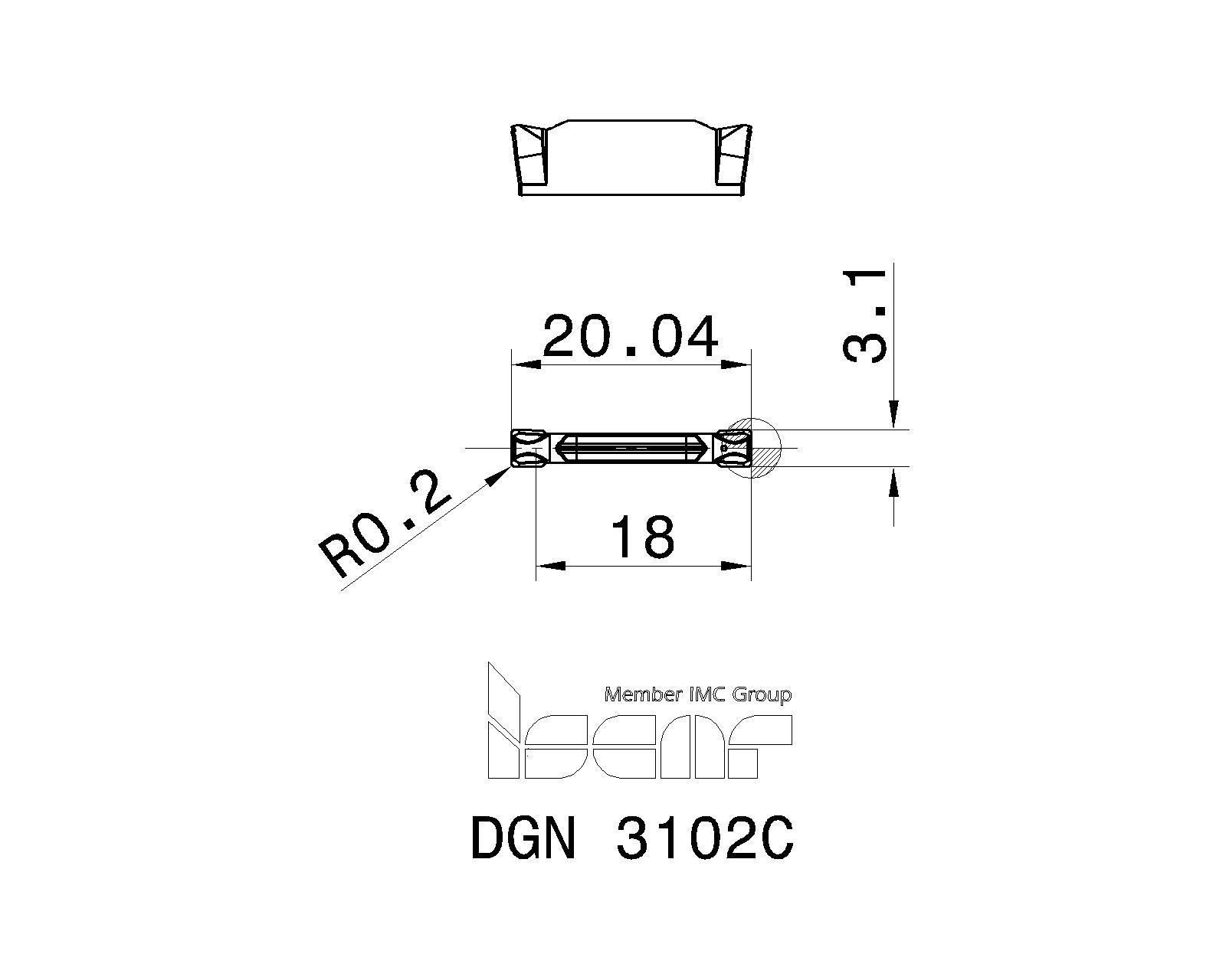 DGN 3102C IC908