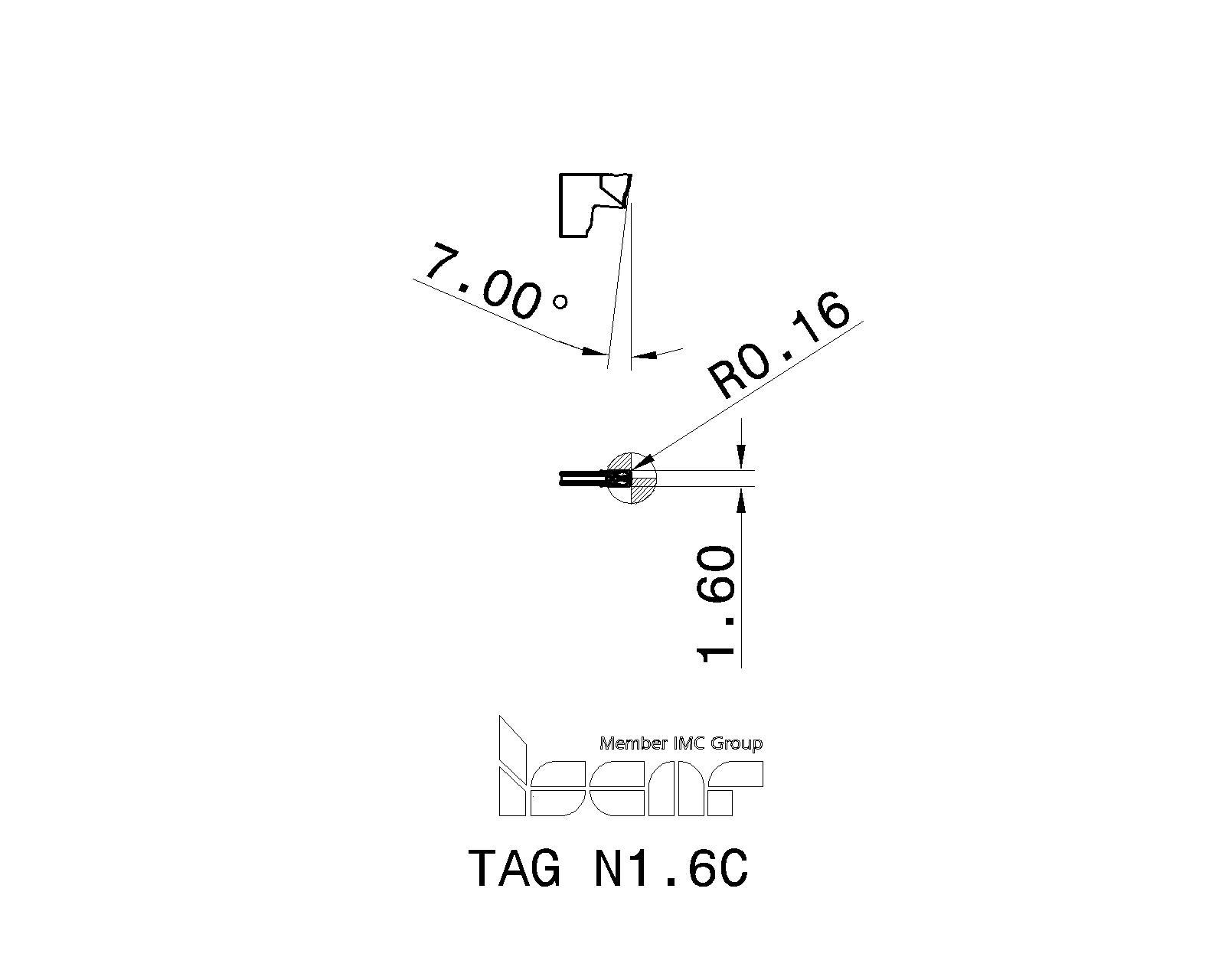 DWDA//CX1248 Drill America #48X12 HS A//C EXT Drill