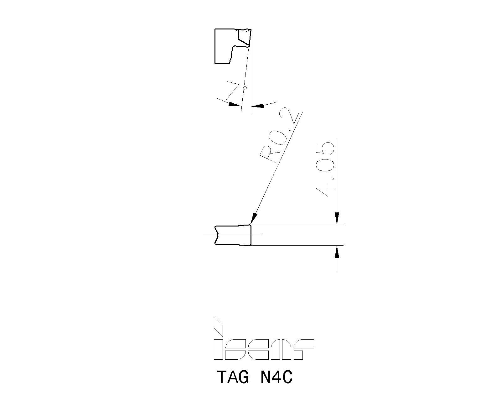 TAG N4C IC908