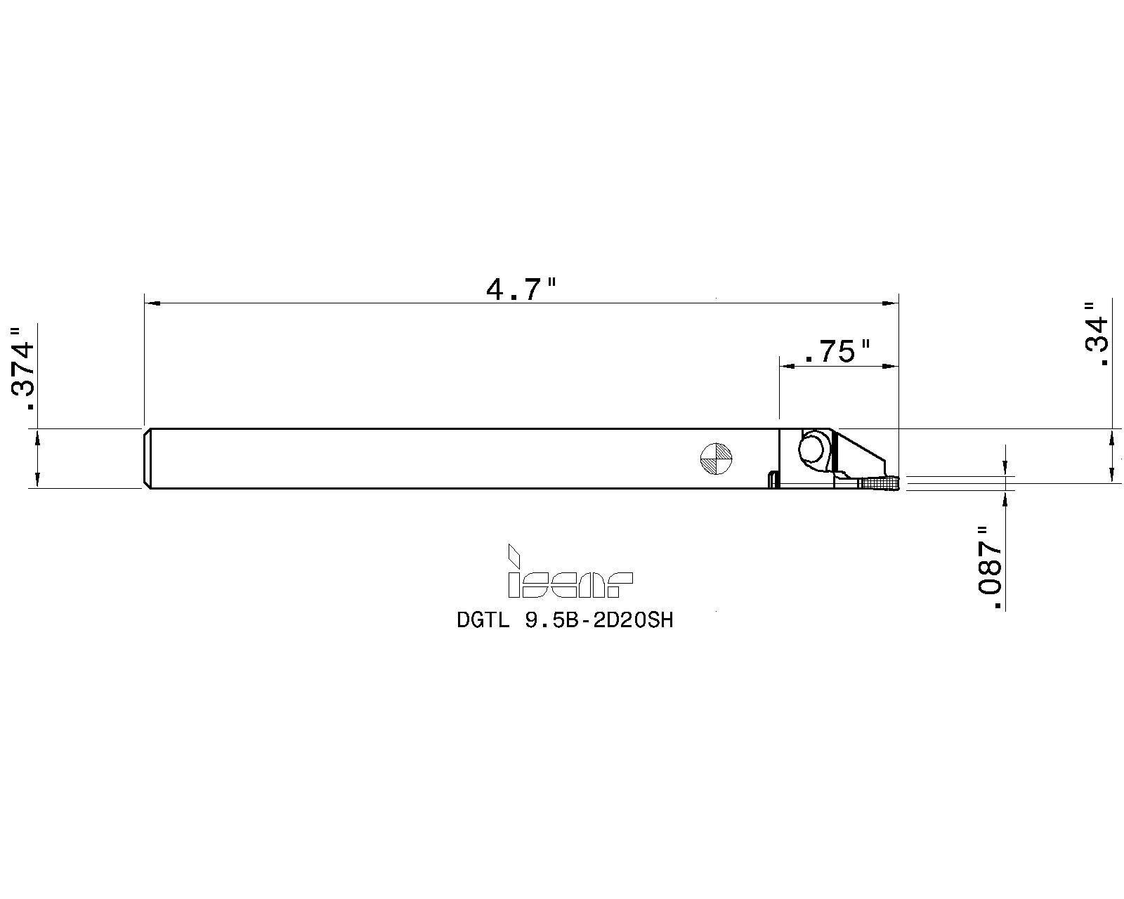DGTR 9.5B-2D20SH